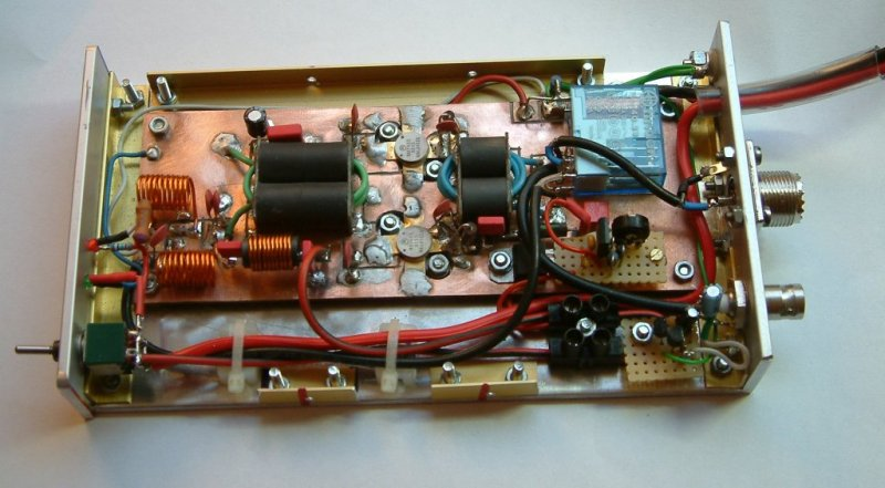 More power for your QRP rig: Linear rf amplifier for SSB by Peter Rachow (DK7IH)