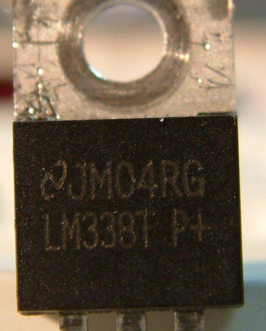 Wanna be LM338 fake power regulator