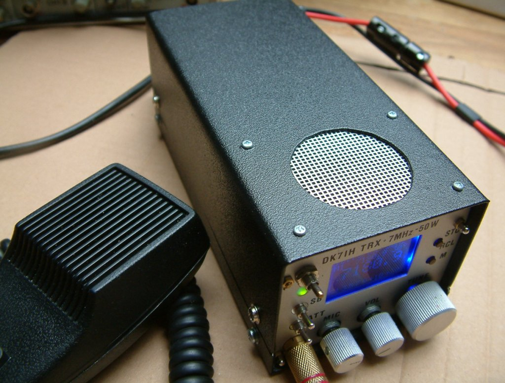 SSB transceiver for 40 Meters with 50 Watts of output