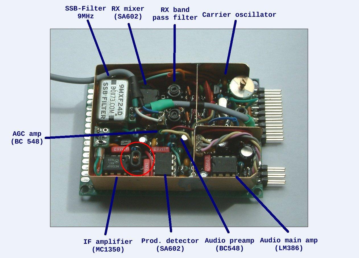 IF amplifier detail