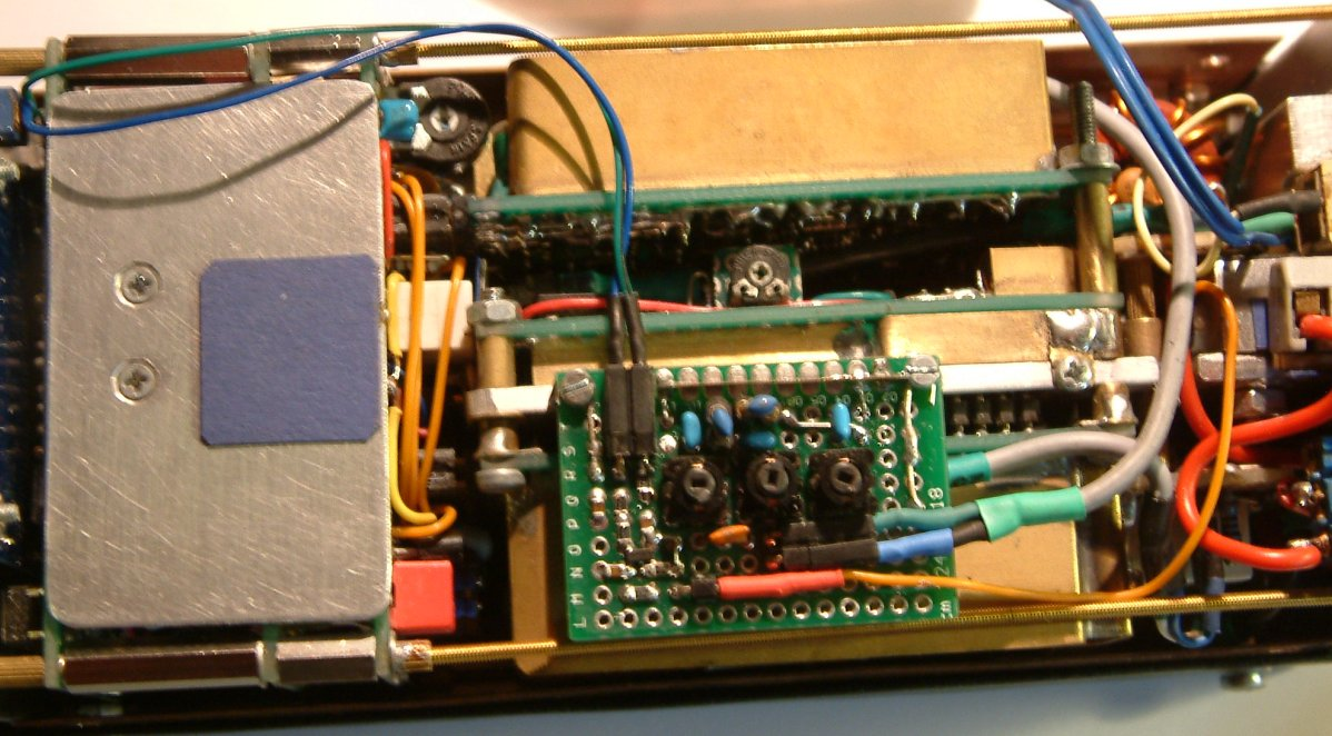 RF Preamp with 3-pole-filter for 7MHz