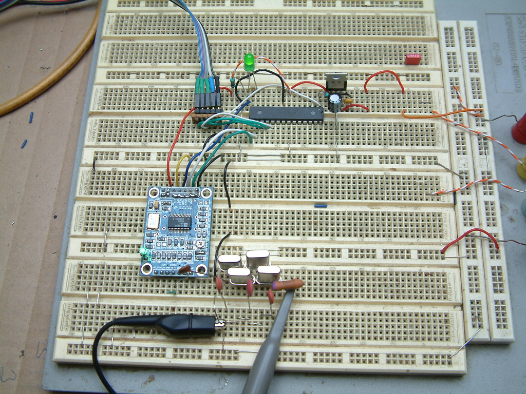 Measuring filter response curves with microcontroller and China made DDS modul (AD9850)