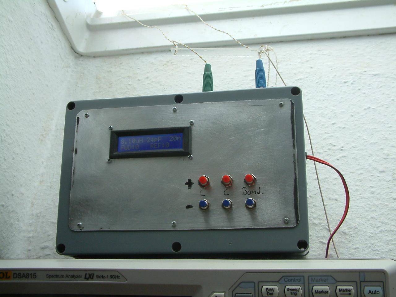 DK7IH semi automatic antenna tuner V
