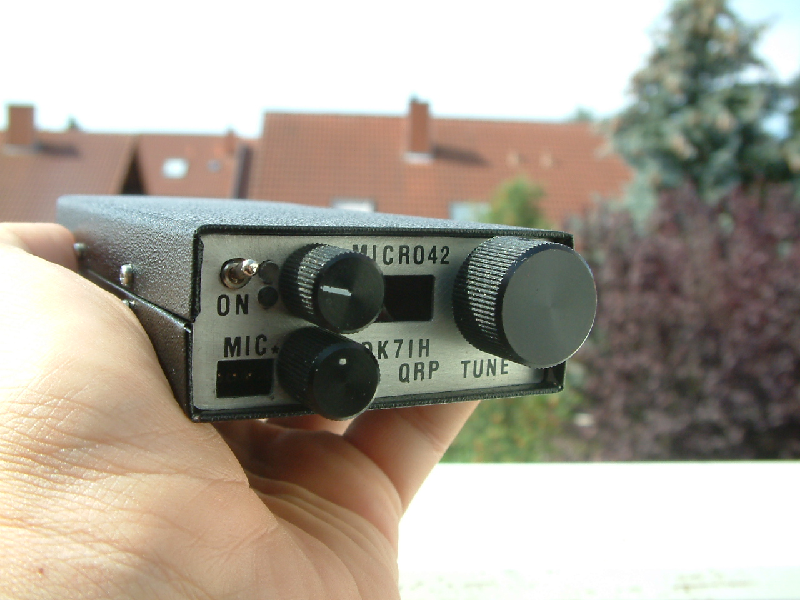 The Micro42 - A really pocket sized SSB QRP transceiver for 7MHz