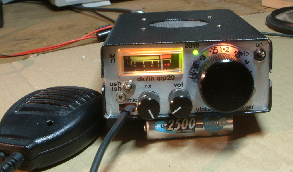 DK7IH - Simple SSB Transceiver for 14MHz (VFO controlled, 5W PEP)