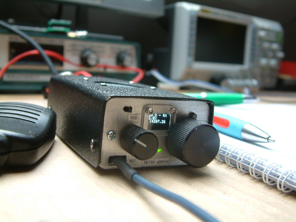 """DK7IH microsize QRP SSB transceiver (""""Micro24"""") for 14 MHz"""