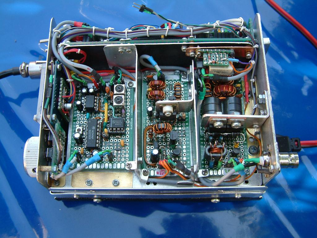 DK7IH - High performance SSB 14MHz 20meters Transceiver - TX modules