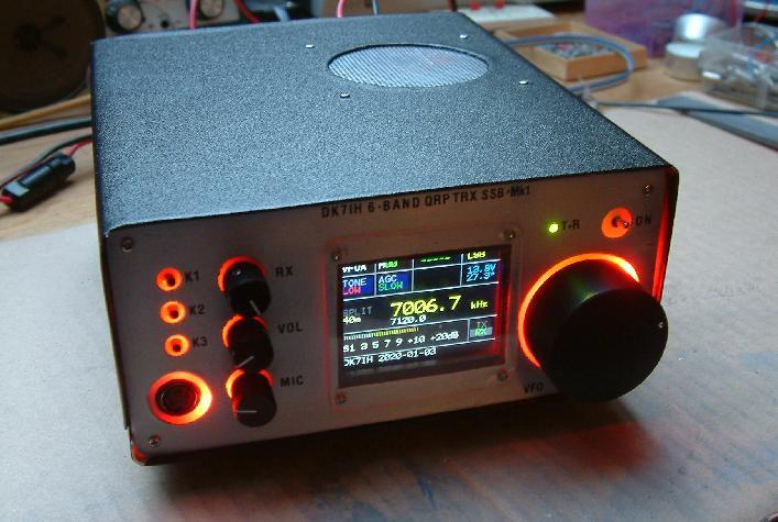 "The ""Midi6"" - An experimental HF radio for 6 amateur bands and SSB modulation. By DK7IH (Peter)"