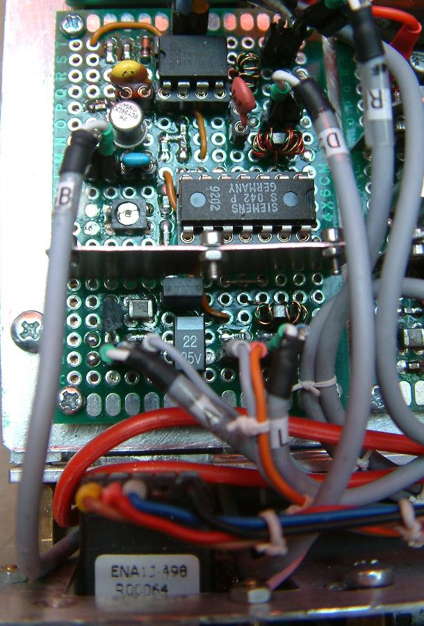 DK7IH 6 band QRP SSB TRX 2019 - SSB-Generator and TX-Mixer board