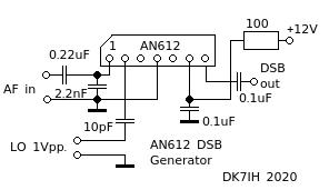 AN612 DSB Generator (DK7IH 2020)