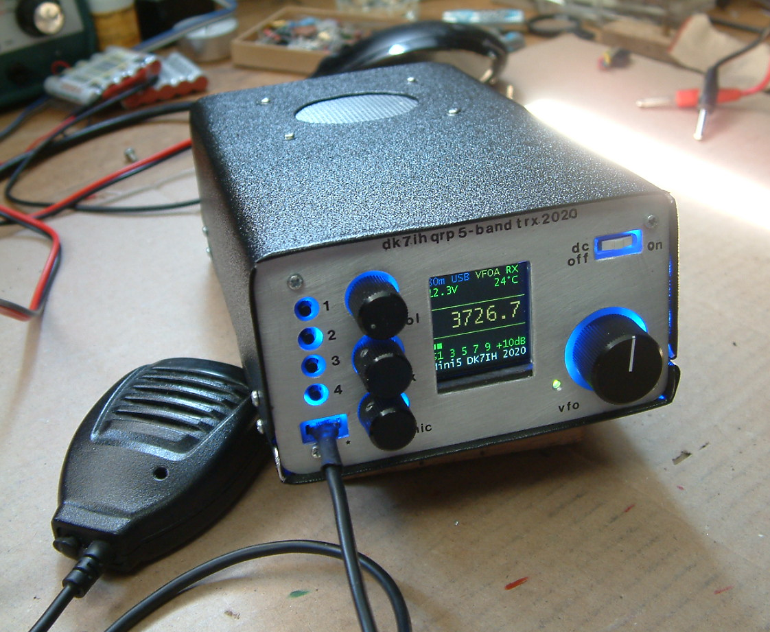 DK7IH Multiband QRP Transceiver for 5 Bands 2020