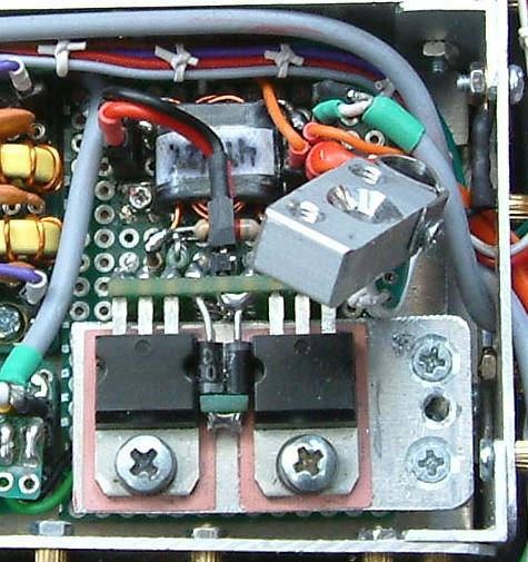 DK7IH Multiband QRP Transceiver for 5 Bands 2020 - Power transistors (2SC1969)